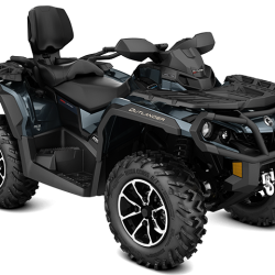 2018 Outlander MAX Limited 1000R Midnight Blue_3-4 front