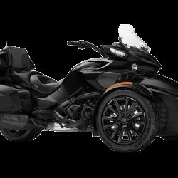2018 Spyder F3 Limited Dark Steel Black Metallic_3-4 front