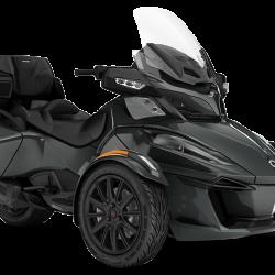 2018 Spyder RT Limited Dark Asphalt Grey Metallic_3-4 front