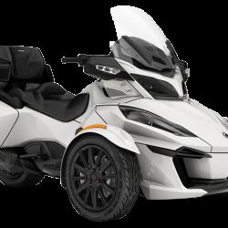 2018 Spyder RT Limited Dark Pear White_3-4 front