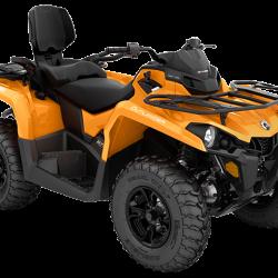2018 Outlander MAX DPS 570 Orange Crush_3-4 front
