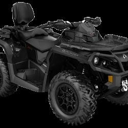 2017 Outlander MAX XT-P 1000RTriple Black_3-4 front (1)