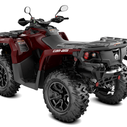 2018 Outlander XT 650 Intense red T3 ABS_3-4 back