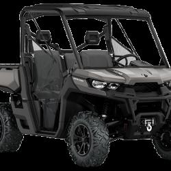 2018 Defender XT HD10 Pure Magnesium Metallic_3-4 front