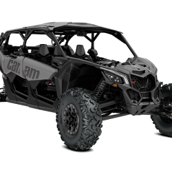 2018 Maverick X3 MAX X rs TURBO R Platinum Satin_3-4 front