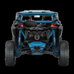 2018 Maverick X3 X rc TURBO R Carbon Black and Octane Blue_back