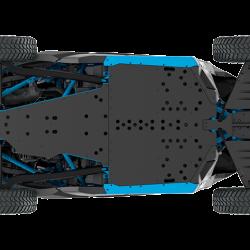 2018 Maverick X3 X rc TURBO R Carbon Black and Octane Blue_bottom