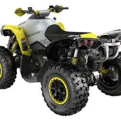 2019 Renegade Xxc 1000R Black, Grey and Sunburst Yellow_3-4 back